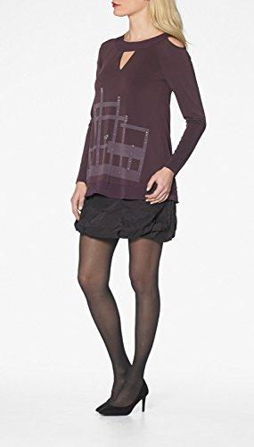LMV La Mode est à Vous - Robe RAMSTAY- Femme Bordeaux