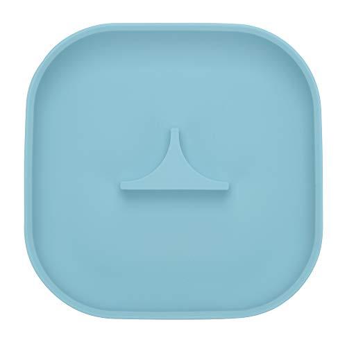 Imagen para Mummik Premium - Plato de succión de silicona, color turquesa | placa ecológica para bebés y niños pequeños