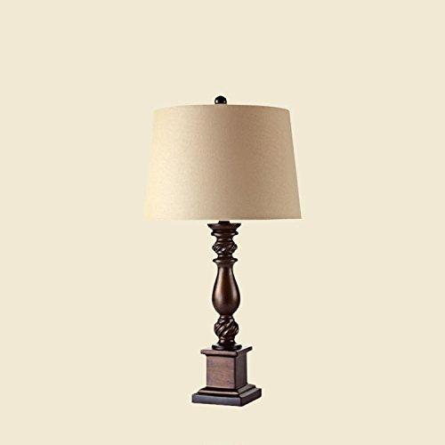 Motesuvar Europäischen Stil Neue Klassische Wohnzimmer Lampe, Ein Großes Schlafzimmer, Nachttisch, Lampe, Studie Modell Zimmer, Vintage - Lampe,Mittelgroß,61Cm Breit,30Cm,Dimmer Wechseln