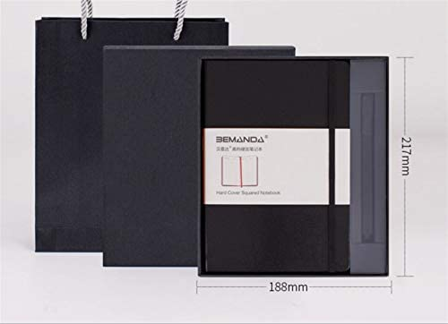 Sun Glower Fournitures scolaires de bureau bureau bureau Delicate Pu Journal en cuir Creative Diary Journal Set Set Pen (Noir) Coffret Cadeau Papeterie B07GLR8YHY | Big Liquidation  a7cff0