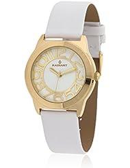 Radiant RA298602 - Reloj con correa de acero para mujer, color blanco / gris