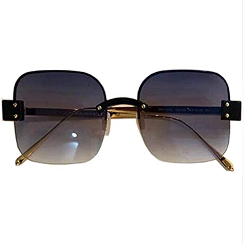 SIMINGSHUAI Platz Frauen Brille RandloseSonnenbrille Damen Siamese Frameless Eyewear