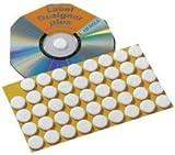 Herma CD-Fixierungspunkte 2015 ø15mm naturweiß Inh.90