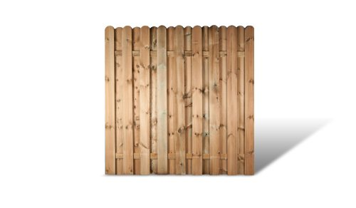 meingartenversand.de Zaundiscount 6 x Holz Gartenzaun Sichtschutz In den Maßen 180 x 180 cm (Breite x Höhe) Bochum Angebotsset
