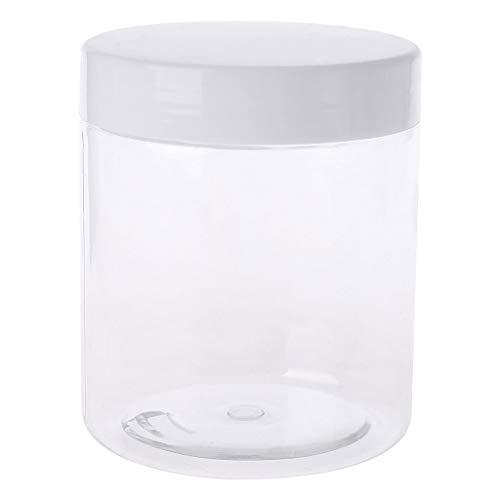 Guoyy 250 ml Voyage cosmétique vide Jar Pot Crème Ombre à paupières Maquillage Conteneur Bouteille Box