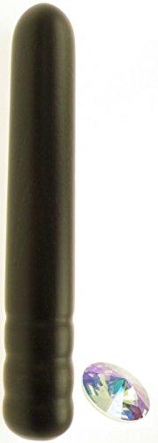 *Holz-Dildo Little Pure – Dildo 100% Made in Germany – Garantiert Schadstofffrei! – MADE WITH SWAROVSKI-ELEMENTS – 10 Jahre Garantie – Mit Regenbogen Swarovski-Stein*