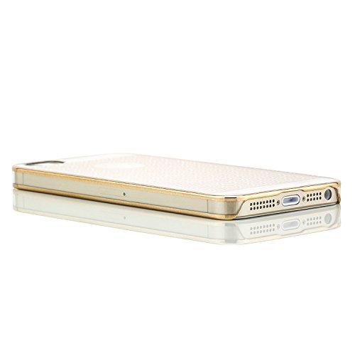 Hoco Apple iPhone 5 5S SE Hülle Slim Case Schutzhülle Back Cover   Muster: Gold Typ 1 Gold Typ 2