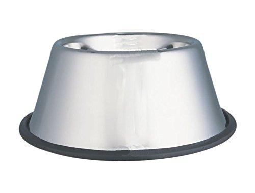Bubimex Ciotola Acciaio Inossidabile Orecchie Lunghe per Cane 950ml