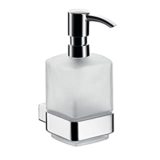 Emco 052100101 Flüssigseifenspender Loft Kristallglas satiniert Kunststoff matt