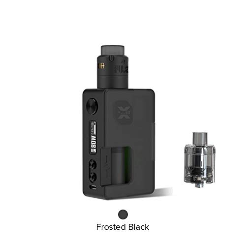 Vandy Vape Pulse X Kit Sonderausgabe, E Zigarette Squonk Kit Kein Nikotin und Tabak (Mattschwarz) -