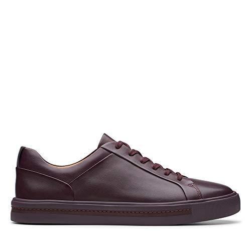 Clarks Damen Un Maui Lace Sneaker, Braun Aubergine Lea, 41 EU -