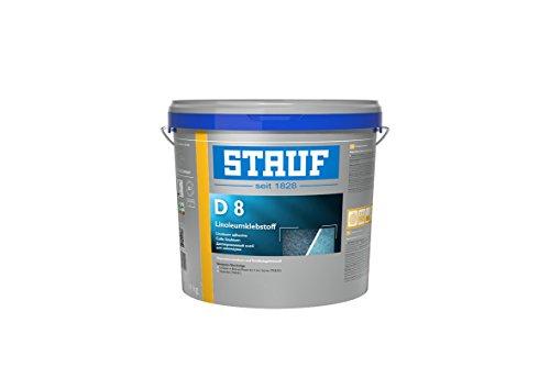 Stauf 141360 Linoleum-Klebstoffe für textile und elastische Beläge D 8, 14kg