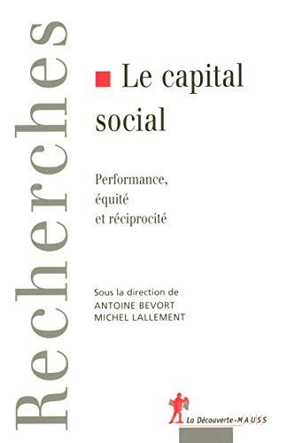 Le capital social par (Broché - Feb 23, 2006)