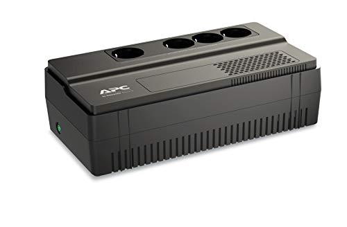 APC Easy-UPS BV - BV1000I-GR - Unterbrechungsfreie Stromversorgung 1000VA (AVR, 4 Schuko Ausgänge) -