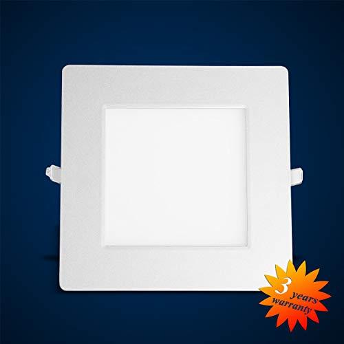 mext Electronic Panneau LED Dalle de plafond murale Pane lult raslim rectangulaire LED encastrable Panneau Blanc 1501lm 21 W (S)
