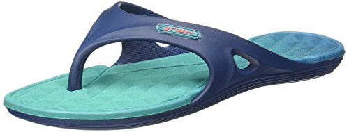 Flip Flop Da Donna Da Pilota Monza Regolabile Blu Impermeabile