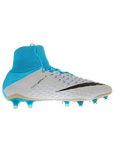 Nike Herren 860643-104   Hypervenom Phantom III FG Fußballschuhe WEISS/BLAU
