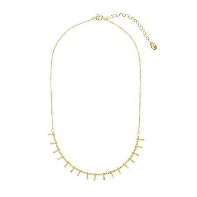 Collier ras de cou Petite Pampilles Perles Boules pendentifs Or ou Argent - Minimaliste et Délicat