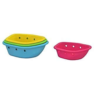 Green Sprouts Sprout Ware Floating Boats made from Plants (one Size, Multi-colour, 4 boats)