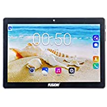 "Fusion5 4G Tablet (2GB RAM, 32GB Storage, Wi-Fi + 4G LTE + Voice Calling) (Black, 10.1"")"