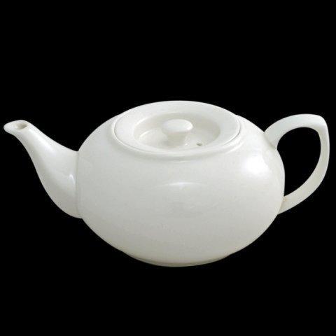 Empilable Théière en porcelaine vitrifiée