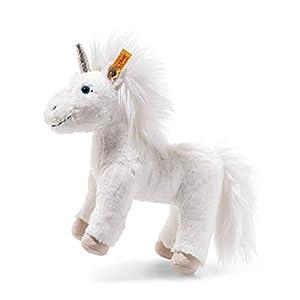 Steiff 87783 - Unicornio de Peluche (25 cm), Color Blanco