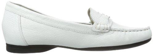Caprice  Lena-3 9-9-24250-22 001, pantoufles femme Blanc - Weiß (WHITE 100)