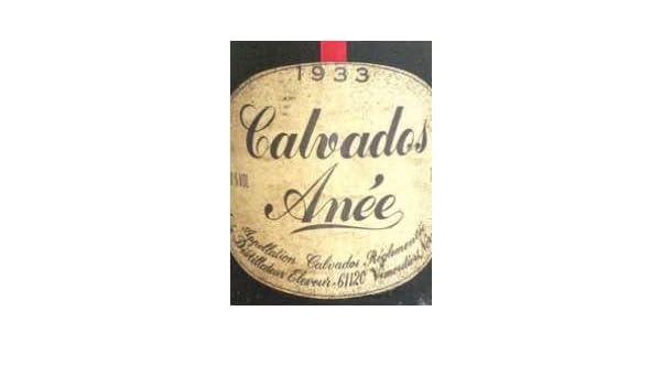 ANEE MICHEL 1933, Calvados: Amazon.de: Bier, Wein & Spirituosen
