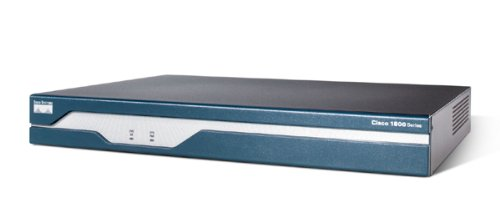 Price comparison product image Cisco 1841 Integrated Services Router - Router - EN,  Fast EN - Cisco IOS - 1 U external