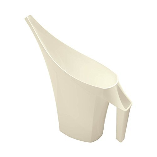 Design Gießkanne in Weiß mit 2 Liter Füllvolumen
