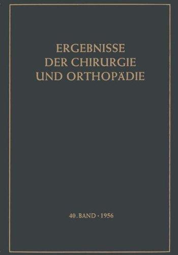 Ergebnisse der Chirurgie und Orthop????die (German Edition) by Karl Heinrich Bauer (2013-10-04)