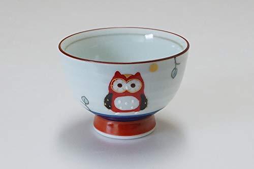 Imari Arita-yaki Fortune Chouette Tasse de thé (Rouge) 12703002