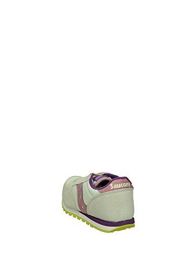 Saucony JAZZ Sneakers Bassa Bambina Bianco Rosa