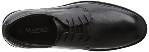 Spot On Men A2128 Scarpe Stringate Nero (nero)
