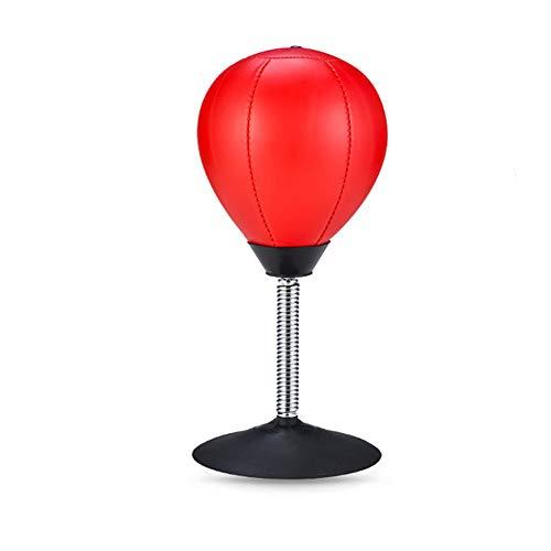 Sandsack Boxen Desktop Punching Ball Heavy Duty Saugdruck zu entlasten freistehender Boxsack Desktop-Vent Ball Boxen Training Praxis Anti-Stress-Spielzeug -