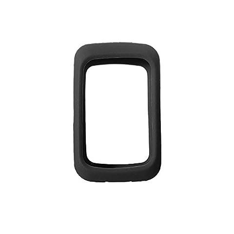 Inovey 7X4.8cm Housse Pour Peau En Gel En Silicone Housse Pour Vélo Gps Gps 310 / 310T / 310E / 310C Gps -Noir