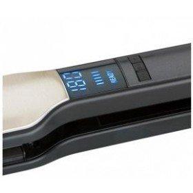 AEG HC 5593 Heiß- Haarglätter 45W Schwarz - Silber, 520593