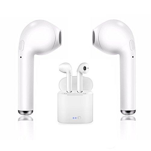 Bluetooth Headset, Smart Kopfhörer Wireless Kopfhörer Sport Kopfhörer für iPhone X/8/7/6/6s Rauschunterdrückung und Lade und Samsung Galaxy S8, S8 Plus