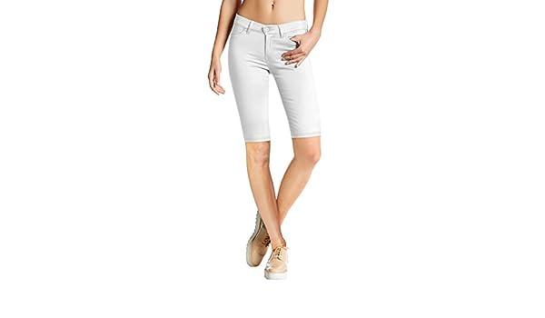 Womens Perfectly Shaping Hyper Stretch Bermuda Shorts B44876X Navy 3X