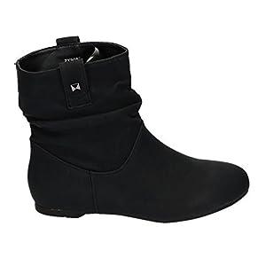 TMA Winterstiefel Damen Stiefel Gefuttert Schuhe Gr 36 42 5061 7086 Halbstiefel