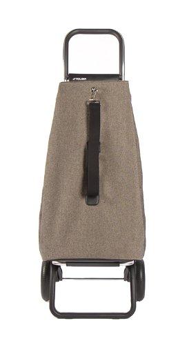 ROLSER Einkaufsroller LOGIC RG / ECOMAKU, MAK001, 41 x 32 x 105,5 cm, 52 Liter, 40 kg Tragkraft granito