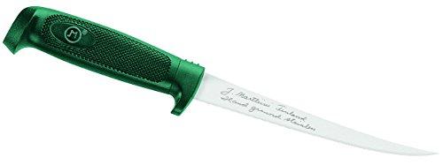 Marttiini Messer Finnisches Filiermesser, preiswert, Klinge 15 cm, rostfrei, Kunststoff-Scheide 904615
