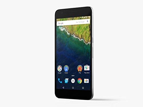 "Huawei Nexus 6P 5.7"" SIM única 4G 3GB 32GB 3450mAh Gris - Smartphone (14,5 cm (5.7""), 32 GB, 12,3 MP, Android, 6.0, Gris)"