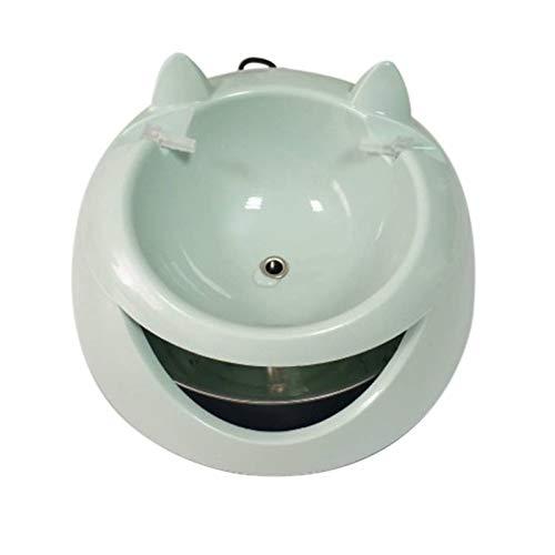 TOOGOO Automatische Leuchtende Haustiere Brunnen Für Katzen Brunnen Hunde USB Elektrische Wasser Spender Tr?nken Schüsseln Für Eine Katze - Hund-brunnen-wasser-schüssel