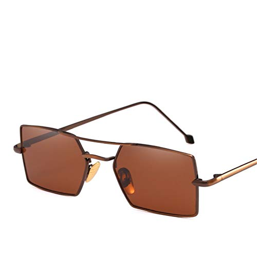 Wenkang Vintage Square Sunglasses Men Women Candy Color Metal Frame Sun Glasses Fashion Sunglass Shades Eyewear,7
