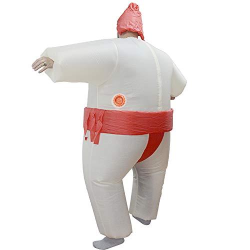 LOVEPET Aufblasbare Sumo Kostüm Weihnachten Halloween Lustige Show Wrestling Requisiten Fat Man Sumo Aufblasbare Elternteil-Kind Kleidung Maskerade Requisiten