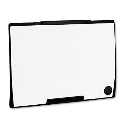 Motion Portable Dry Erase Board, 36 x 24, White, Black Frame