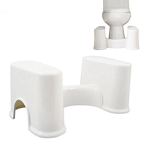 Badezimmerhocker Toilettenhocker Toilettenhilfe Toilettenstuhl Badezimmer WC-Hocker abnehmbare WC Füße für Erwachsene Kinder