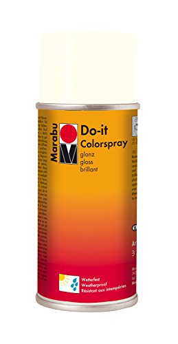 Marabu Do-Spray lucido It, colore: bianco