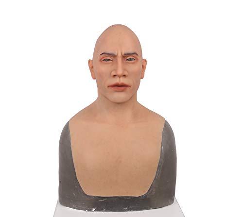 ke Silikon Realistische Full Head Maskerade der 4. Generation für Crossdresser Cosplayer Kostüm Party Drag Queen ()